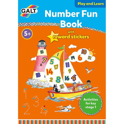 Picture of Galt Number Fun Book