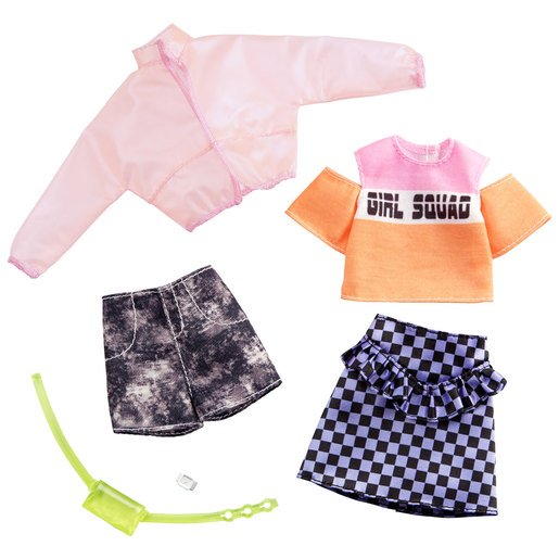 Picture of Barbie Fashions Girl Squad Outfits - 2 Pack