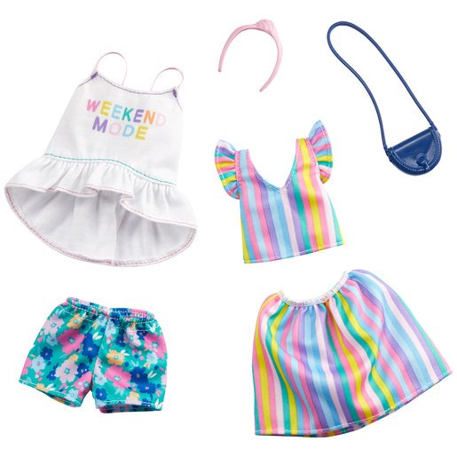 Picture of Barbie Fashions Rainbow Outfits - 2 Pack