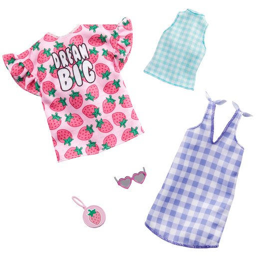 Picture of Barbie Fashions Dream Big Outfits - 2 Pack