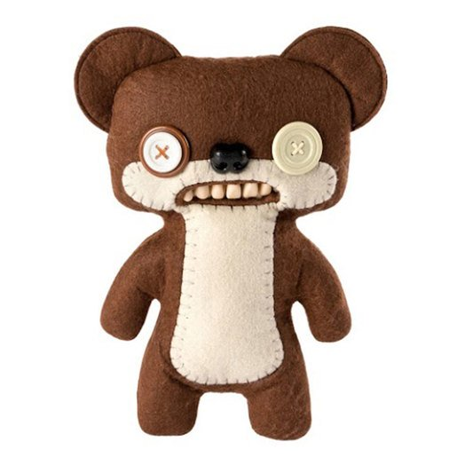 Picture of Fuggler 22cm Funny Ugly Monster - Teddy Bear Nightmare (Brown)