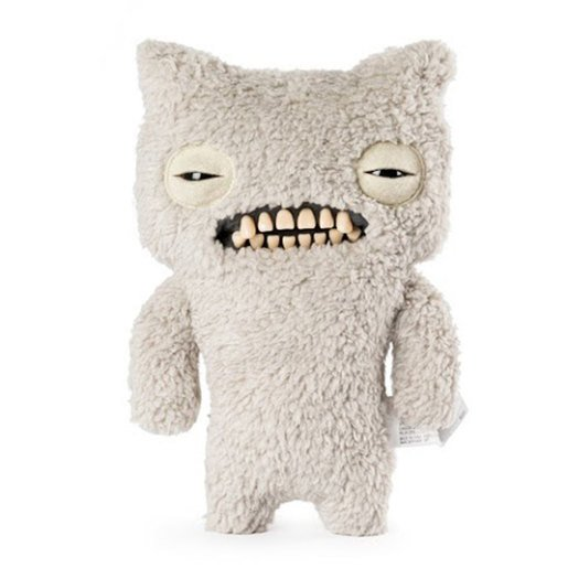 Picture of Fuggler 22cm Funny Ugly Monster - Munch (Fuzzy White)