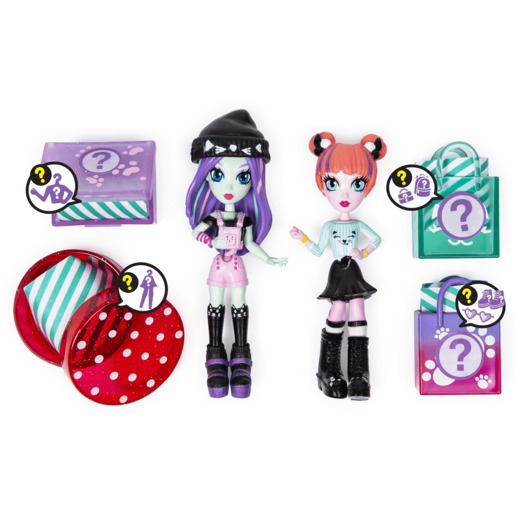 Picture of Off The Hook Style 10cm Dolls Brooklyn and Alexis Concert Playset