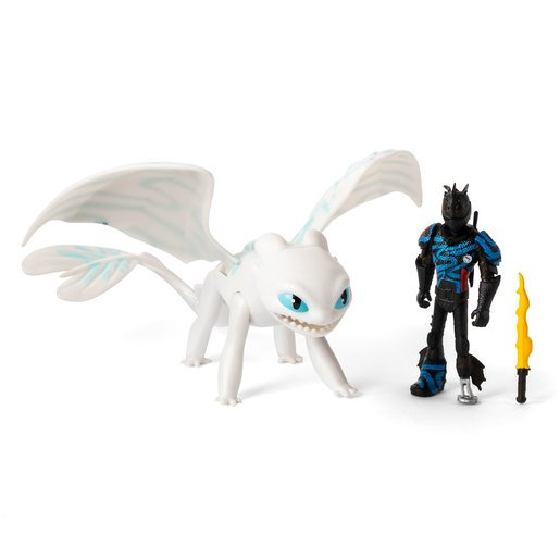 Picture of DreamWorks Dragons: The Hidden World - Hiccup and Lightfury (Blue Wings)