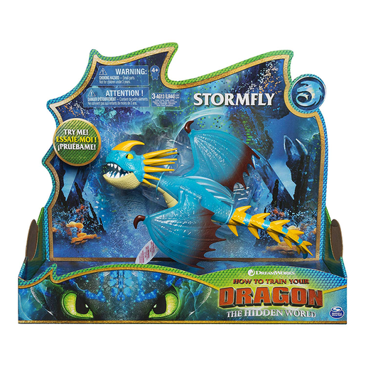Picture of DreamWorks Dragons: Hidden World - Deluxe Lights and Sounds Figure - Stormfly