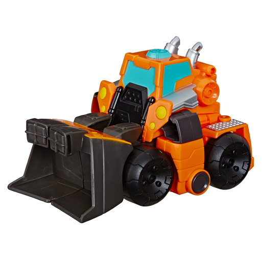 Picture of Playskool Heroes Transformers Rescue Bots Academy 15cm - Wedge The Construction-Bot