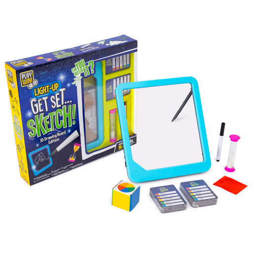 Picture of Play & Win Light-Up Get Set Sketch