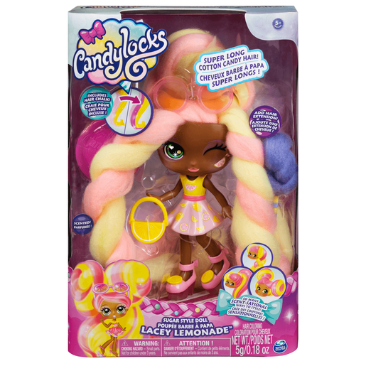 Picture of Candylocks 17cm Deluxe Scented Doll - Lacey Lemonade