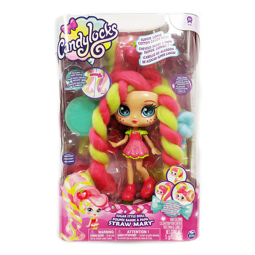 Picture of Candylocks 17cm Deluxe Scented Doll - Straw Mary