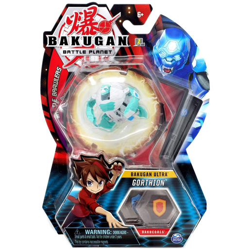 Picture of Bakugan 8cm Ultra Action Figure and Trading Card - Gorthion