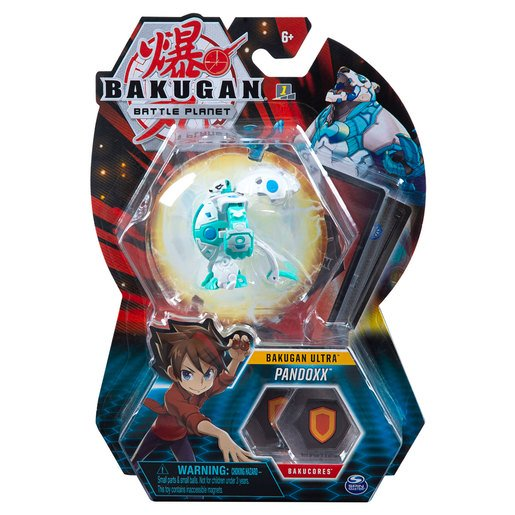 Picture of Bakugan 8cm Ultra Action Figure and Trading Card - Pandoxx