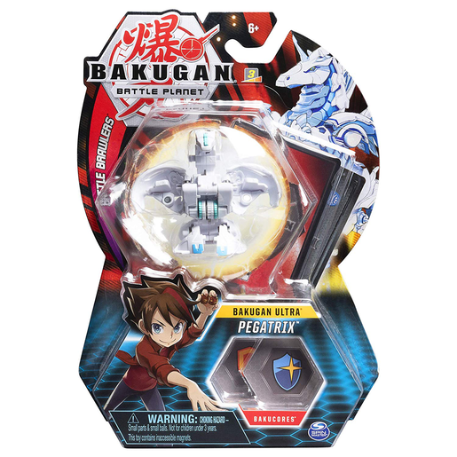 Picture of Bakugan 8cm Ultra Action Figure and Trading Card - Pegatrix