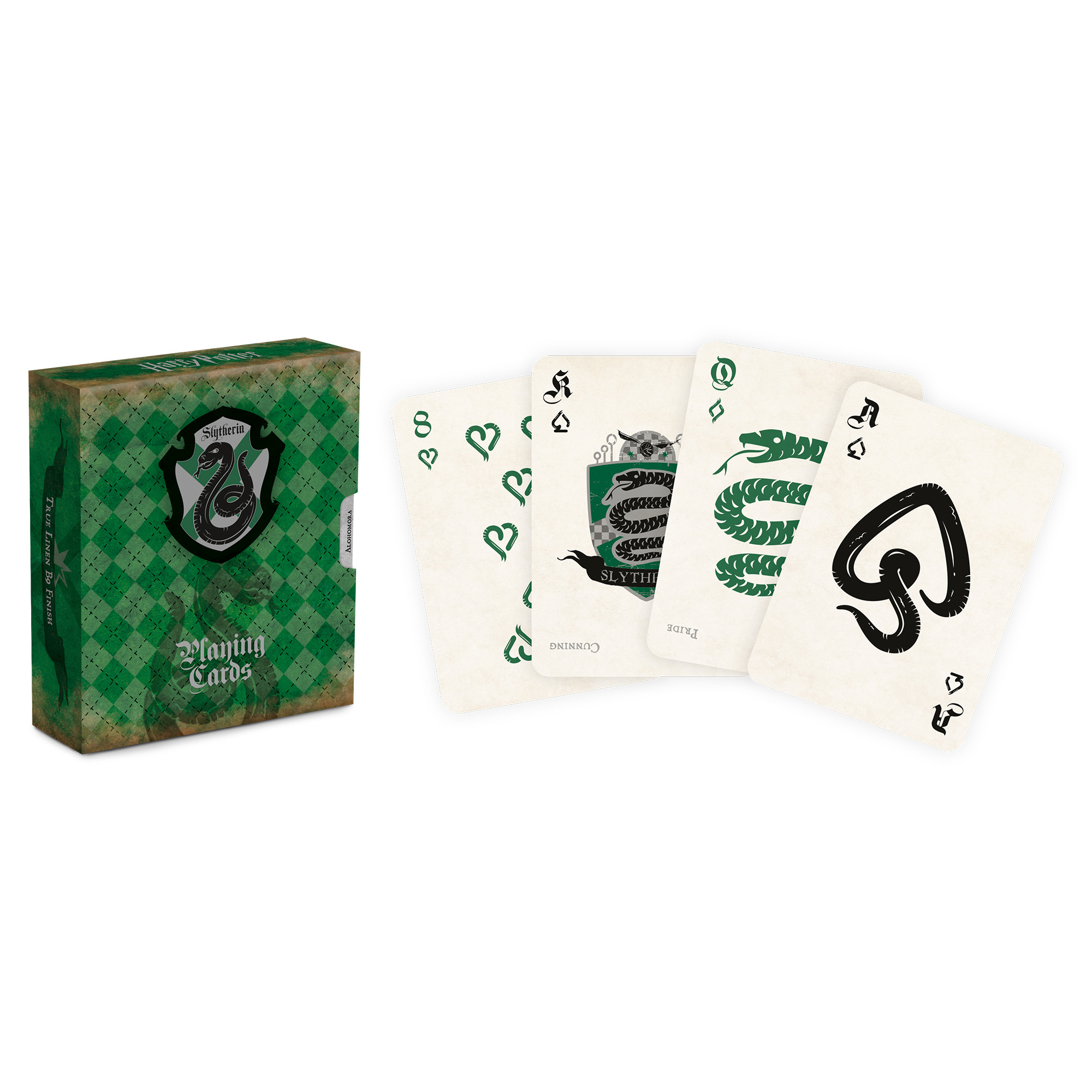 Picture of Harry Potter Slytherin Playing Cards