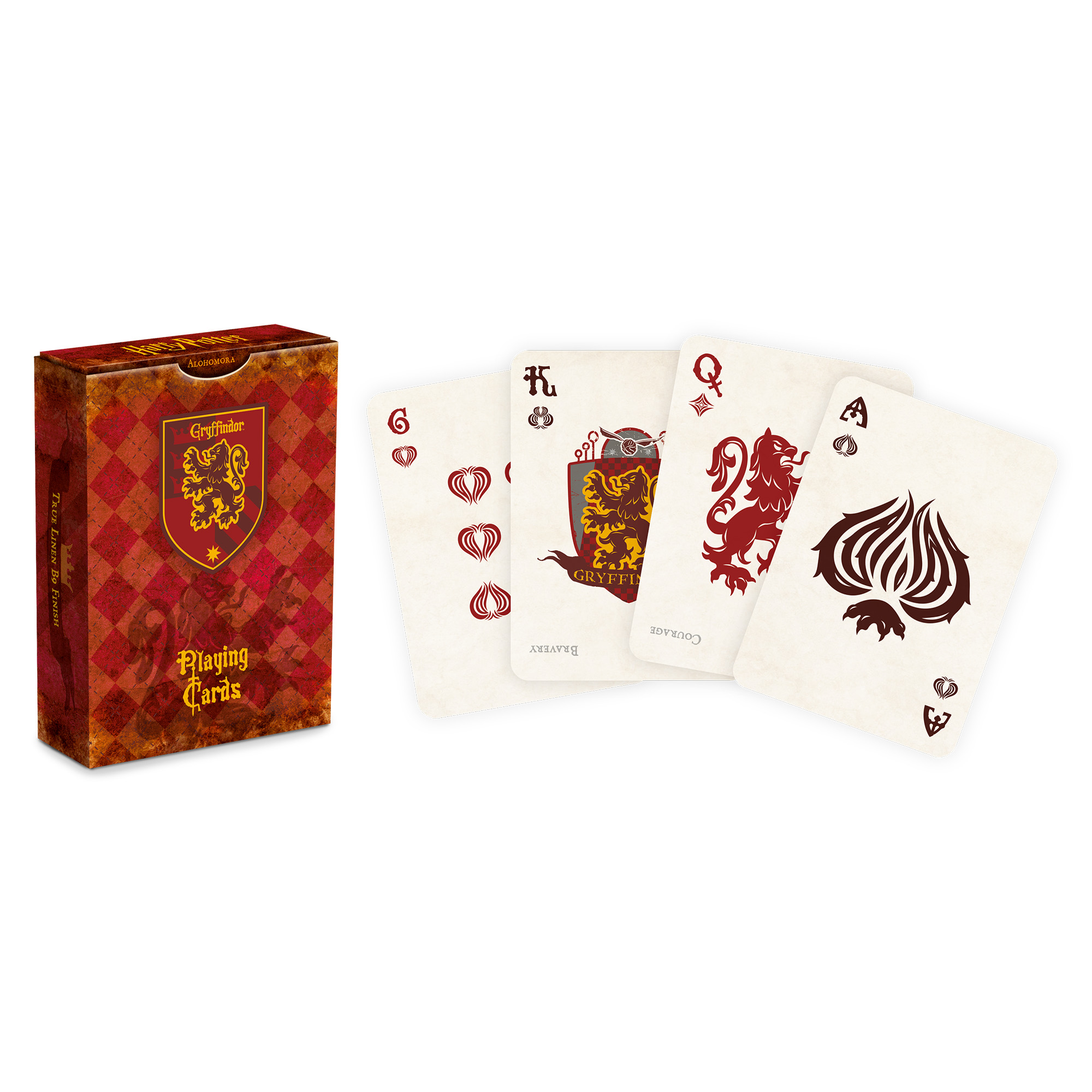 Picture of Harry Potter Gryffindor Playng Cards