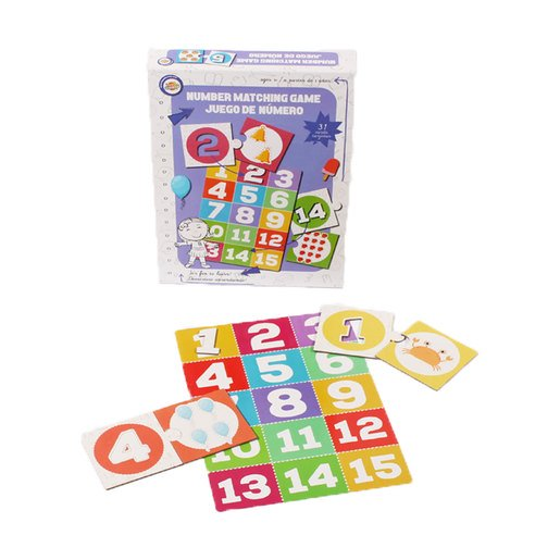 Picture of Number Matching Game