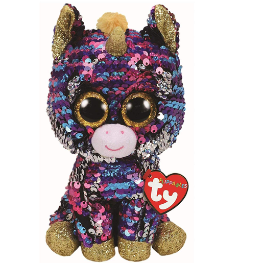 Picture of Ty Flippables 23cm Soft Toy - Celeste The Cat