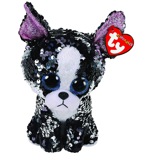 Picture of Ty Flippables 23cm Soft Toy - Portia The Dog