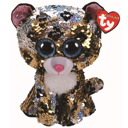 Picture of Ty Flippables 23cm Soft Toy - Sterling The Leopard