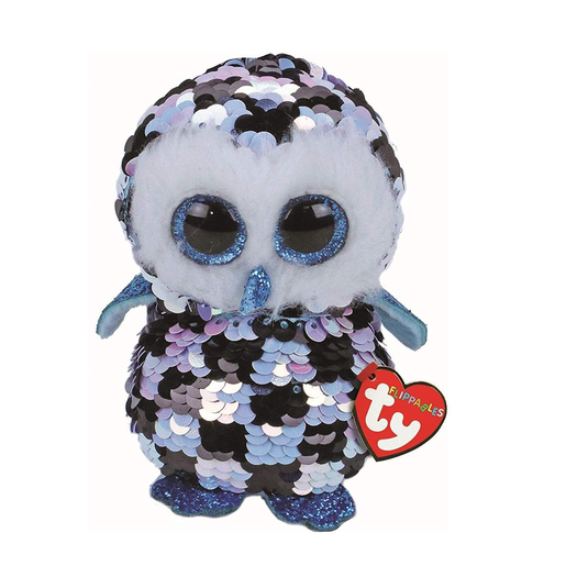 Picture of Ty Flippables 23cm Soft Toy - Topper The Owl