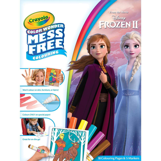 Picture of Disney Frozen 2 Crayola Color Wonder Mess Free Book