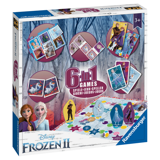 Picture of Ravensburger Disney Frozen 2 6-in-1 Games