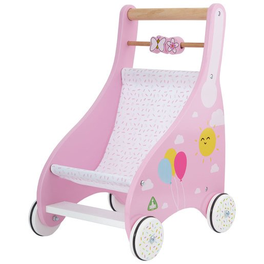 Picture of Early Learning Centre Wooden Pushchair