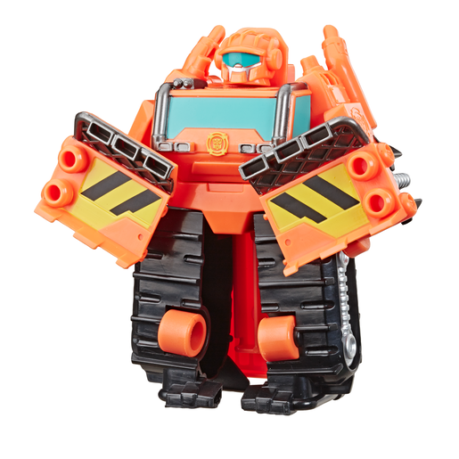 Picture of Transformers Rescue Bots Academy Figure - Wedge The Construction-Bot
