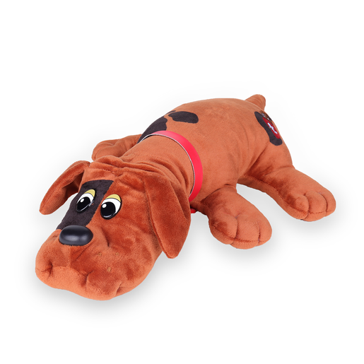 Picture of Pound Puppies Classic Plush Toy - Dark Brown with Spots