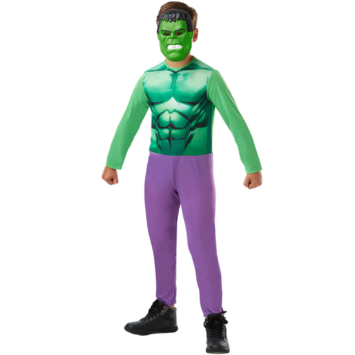 Picture of Marvel Avengers Hulk Fancy Dress Costume Box Set