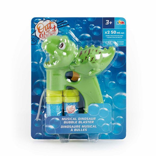 Picture of Out & About Musical Dinosaur Bubble Blaster