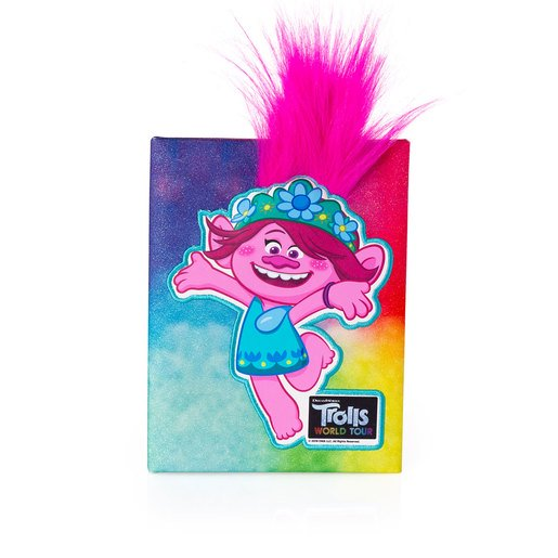 Picture of DreamWorks Trolls World Tour Poppy Glitter Diary