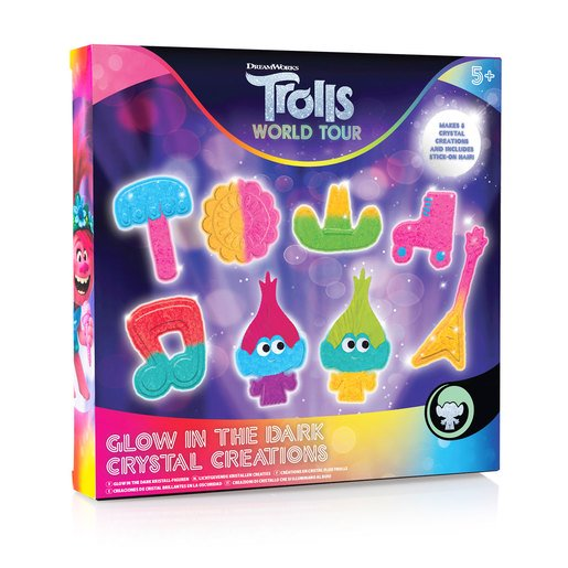 Picture of DreamWorks Trolls World Tour Glow In The Dark Crystal Creations