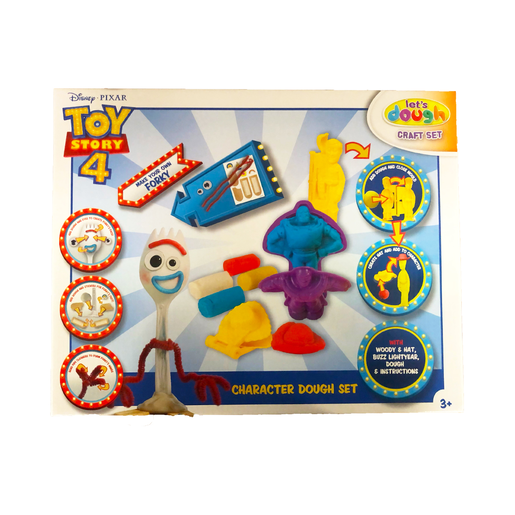Picture of Disney Pixar Toy Story 4 Let's Dough Character Dough Set and Make Your Own Forky