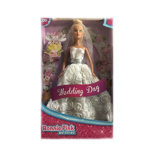 Picture of Bonnie Pink Doll - Wedding Dress