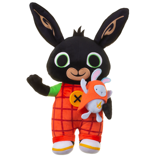 Picture of Bing Light-Up and Talking 36cm Soft Toy - Bing and Hoppity