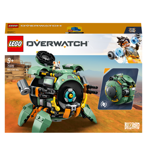 Picture of LEGO Overwatch Wrecking Ball Character Figure Set - 75976