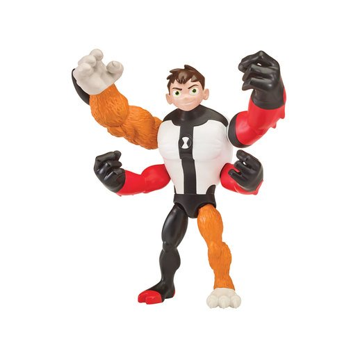Picture of Ben 10 Action Figure Omni-Glitch Heroes - Ben-Four Arms-Rath