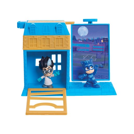 Picture of PJ Masks Micro Trap and Escape Playset - Catboy and Romeo