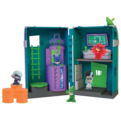 Picture of PJ Masks Nighttime Micros Romeo's Lair Playset