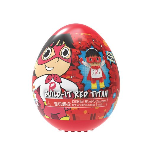 Picture of Ryan's World Build A Friend Egg - Red Titan