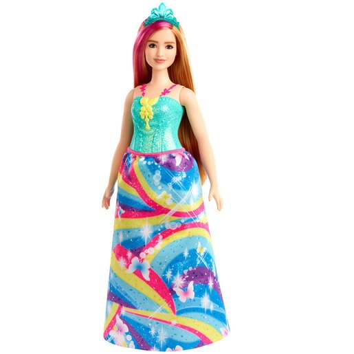 Picture of Barbie Dreamtopia Princess Doll - Blonde Hair with Butterfly Dress