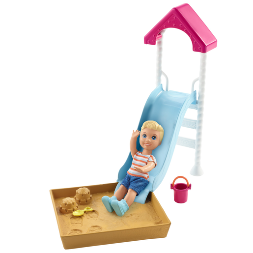 Picture of Barbie Skipper Babysitters Doll & Playground Playset