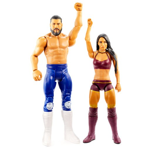 Picture of WWE Battle Pack Figures - Andrade and Zelina Vega
