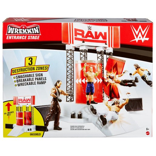 Picture of WWE Wrekkin Entrance Stage Playset