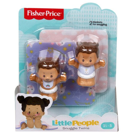 Picture of Fisher-Price Little People Snuggle Twin Figures - Unicorn Twins