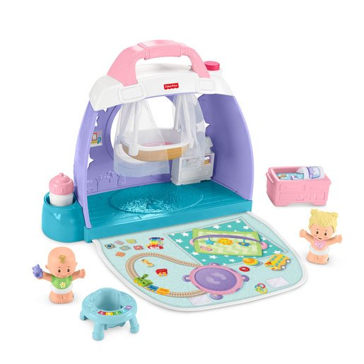 Picture of Fisher-Price Little People Cuddle & Play Nursey Playset