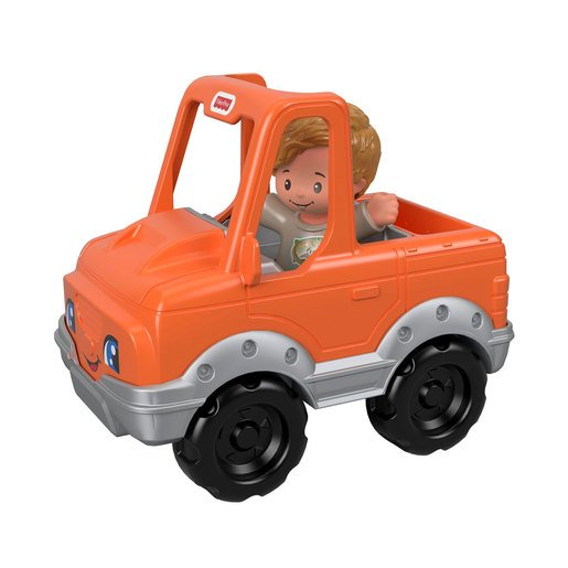 Picture of Fisher-Price Little People Vehicle and Figure - Fisherman and Truck