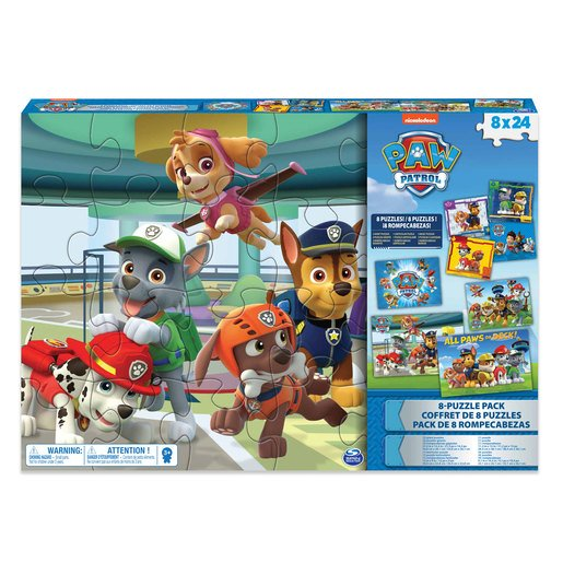 Picture of Paw Patrol Puzzles 8 Pack
