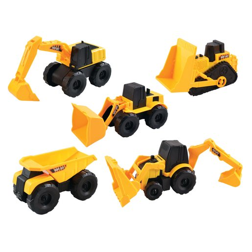Picture of Team Power 16cm Construction Trucks - 5 Pack