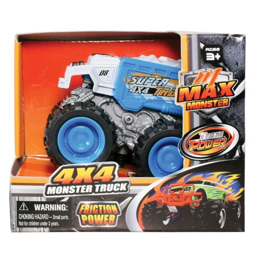 Picture of Team Power 9cm Max Monster Truck - Blue